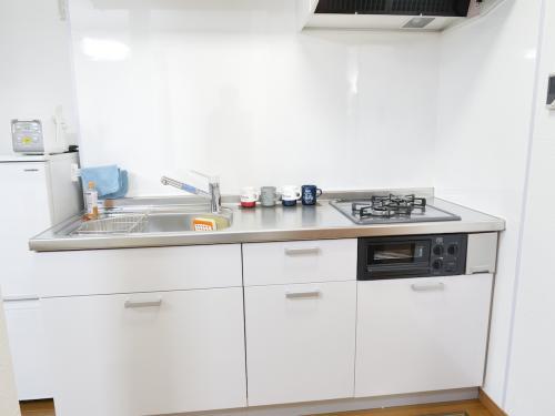 廚房有小烤箱可以考整隻魚,是瓦斯爐歐